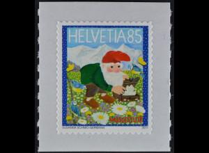 Schweiz 2011 Michel Nr. 2219 ** postfrisch, Zwerg Muggestutz