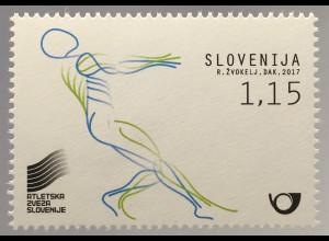 Slowenien Slovenia 2017 Nr. 1251 Leichtathletik Weltmeisterschaft London