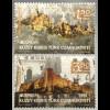 Zypern türkisch Cyprus Turkish 2017 Nr 840-41 Europaausgabe Burgen und Schlösser