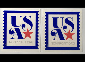 USA Amerika 2017 Michel Nr. 5358 Freimarke USA mit Stern aus Rolle