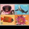 Vereinte Nationen UN UNO New York 2017 Nr. 1614-17 Geschützte Arten Tierschutz