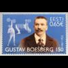 Estland EESTI 2017 Michel Nr. 895 150. Geburtstag von Gustav Boesberg Athletik