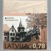 Lettland Latvia 2017 Michel Nr. 1011 D Europa Burgen und Schlösser aus MH