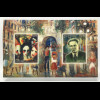 Lettland Latvia 2017 Block 41 120. Geburtstag von Janis Tidemanis Kunst Gemälde
