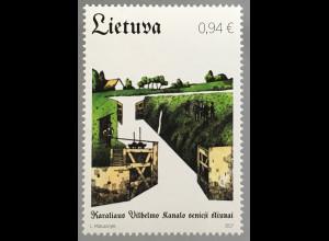 Litauen Lithuania 2017 Nr. 1253 Alte Kanalschleusen von König William