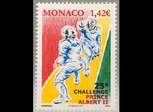 Monako Monaco 2017 Michel Nr. 3352 Internationales Fechtturnier für Jugendliche