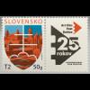 Slowakei Slovakia 2017 Neuheit 25 rokov Filmfestival Art Film Kino