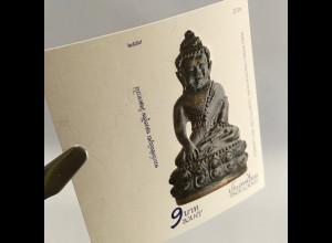 Thailand 2017 Neuheit Phra Kring Chinabanchorn geschnittenes Amulett mit Lack