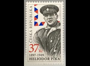 Tschechische Republik 2017 Michel Nr. 926 120. Geburtstag von Heliodor Píka