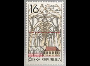 Tschechische Republik 2017 Michel Nr. 932 Baubeginns Kirche Mariä Himmelfahrt