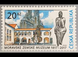 Tschechische Republik 2017 Nr. 931 200 Jahre Mährisches Landesmuseum in Brünn
