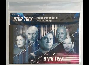 Kanada Canada 2017 MH 595 Star Trek Raumschiff Enterprise tolles Markenheft