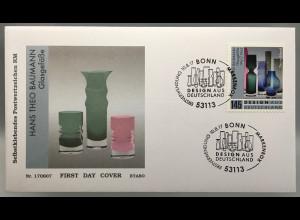 Bund BRD Ersttagsbrief FDC Nr. 3330 10. August 2017 Design aus Deutschland