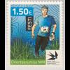 Estland EESTI 2017 Nr. 897 Weltmeisterschaft im Orientierungslauf Sport Laufen