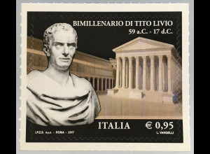 Italien Italy 2017 Michel Nr. 3977 2000. Todestag von Titus Livius Augustusforum
