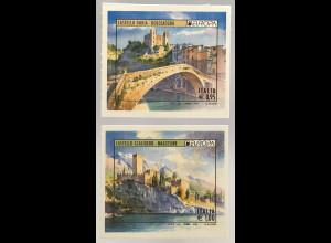 Italien Italy 2017 Michel Nr. 3978-79 Europa Burgen und Schlösser Castello
