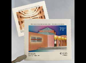 Italien Italy 2017 Michel Nr. 3980-81 Künstlerisches und kulturelles Erbe Teatro