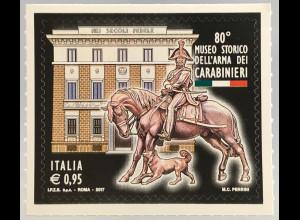 Italien Italy 2017 Michel Nr. 3986 80 Jahre Hist. Museum der Carabinieritruppen