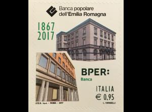Italien Italy 2017 Michel Nr. 3987 150 Jahre Banca Popolare dell'Emilia Romagna