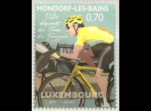 Luxemburg 2017 Michel Nr. 2133 Tour de France Etappe von Bad Mondorf nach Vitell