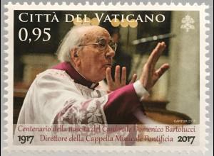Vatikan Cittá del Vaticano 2017 Michel Nr. 1898 Geburtstag Domenico Bartolucci