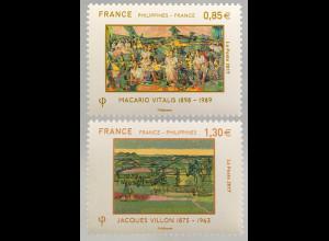 Frankreich France 2017 Nr. 6773-74 Diplomatische Beziehungen mit den Philippinen