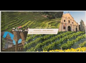 Frankreich France 2017 Block 365 Diplomatische Beziehungen mit den Philippinen