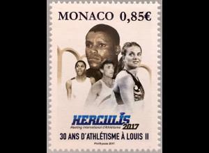 Monako Monaco 2017 Nr 3356 Internationales Leichtathletik-Meeting HERCULIS