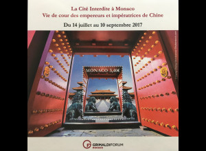 Monako Monaco 2017 Block 123 Die Verbotene Stadt in Monaco Leben am Hofe