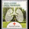 Montenegro 2016 Nr. 9 Zwangszuschlagsmarke TBC Lunge Rotes Kreuz