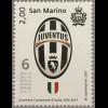 San Marino 2017 Michel Nr. 2717 Juventus Turin gewinnt Fußballmeisterschaft