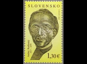 Slowakei Slovakia 2017 Michel Nr. 819 200. Geburtstag von Andrej Radlinský
