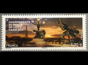 Frankreich France 2017 Michel Nr. 6791 Weltmeisterschaften im Ringen Paris