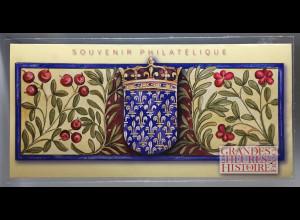 Frankreich France 2017 Block 367 Geschichtliche Ereignisse Herzogin Anne Beaujeu
