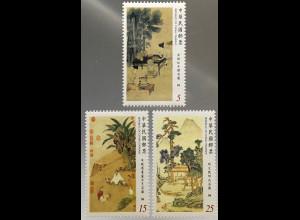 Taiwan Formosa 2017 Neuheit Gemälde im Nationalen Palastmuseum Kunst