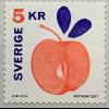 Schweden Sverige 2017 Michel Nr. 3181 Apfel Obst Kernobst