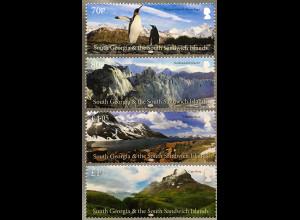Süd Georgien und Südl. Sandwichinseln 2017 Neuheit Landschaften Berge Natur