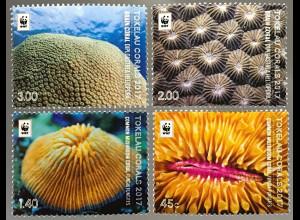 Tokelau Inseln 2017 Neuheit Koralle Nesseltiere Feuerkorallen Stein-Lederkoralle
