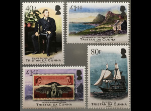 Tristan da Cunha 2017 Nr. 1273-76 Prinz Alfred Duke of Edinburgh Kommandant
