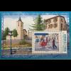 Andorra französisch 2017 Block 14 Volkstänze und Landschaften Dansa Folklorica
