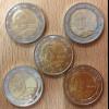 Deutschland 2018 2 Euro Gedenkmünzensatz Altkanzler Helmut Schmidt stempelglanz
