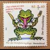 Deutschland 2018 Wohlfahrtsmarken aus der Serie Grimms Märchen Der Froschkönig