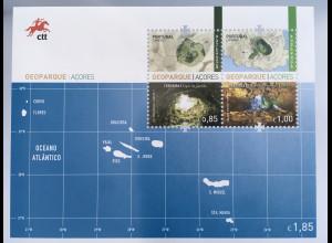 Azoren Acores 2017 Block 65 Geopark breitgefächertes vulkanische Geovielfalt