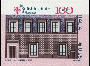 Italien Italy 2017 Michel Nr. 3993 Britisches Institut von Florenz Architektur
