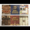 Portugal 2017 Nr. 4331-32 Bibliothek Joanina Bücher Antiquariat Uni Coimbra