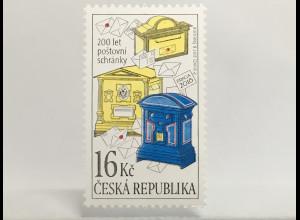 Tschechische Republik 2017 Nr. 943 Briefkästen Briefaufbewahrung Postverkehr