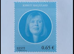 Estland EESTI 2017 Nr. 903 Staatsoberhäupter Staatspräsidentin Politik