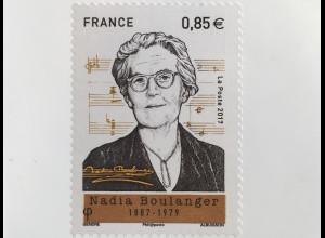 Frankreich France 2017 Michel Nr 6821 130. Geburtstag von Nadia Boulanger