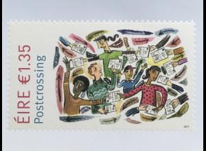 "Irland 2017 Michel Nr. 2242 Postkartennetzwerk ""Postcrossing"""