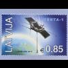 Lettland Latvia 2017 Nr. 1025 Erster lettischer Satellit VENTA-1 Weltraum Space